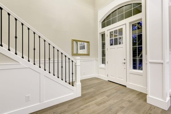stairway in foyer